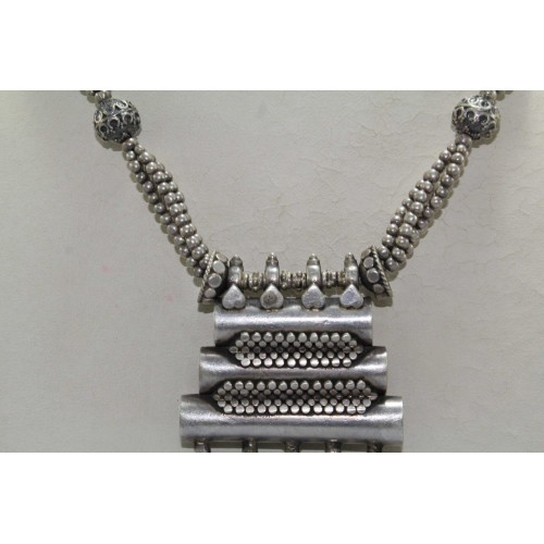 S l1600 f2 3 500x500g antique old silver tribal necklace traditional design necklace india aloadofball Gallery
