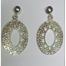 925 sterling silver earring, 92.5 Hallmarked