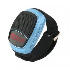 B90 Outdoor Sports MP3 Music Player Digital Watch Portable Wireless Bluetooth 3.0 + EDR Mini Speaker + Remote Control Selfie-timer + Phone Anti-lost + In-Built Mic + Handsfree + FM Radio + Micro SD Card Support - Random Colour