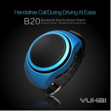 Outdoor B20 Sports MP3 Music Player Portable Wireless Bluetooth Mini Speaker Watch and Micro SD Card Support