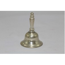 Sterling Silver Bell 2.5 inch x 1.5 inch God Indian Temple Bell