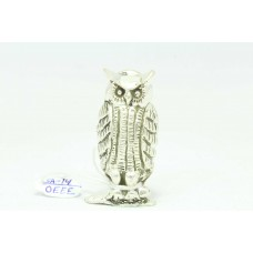 Handmade 925 Sterling SILVER OWL Bird Figure 41.0 Grams Decorative Gift Item