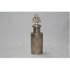 Antique Very old Traditional Handmade Design, SILVER, Perfume / Snuff Bottle