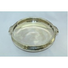 925 Sterling Silver Bowl Home Decorative 581.5 Grams 8.2 X 9 X 2.4 inches