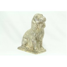 Traditional Handmade 925 Stamped Sterling SILVER Dog Figure Decorative Item..