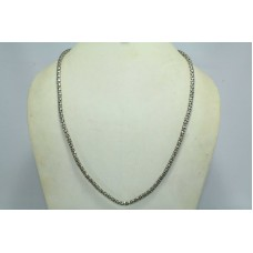 India Handmade 925 sterling silver chain for men n women 23 inches