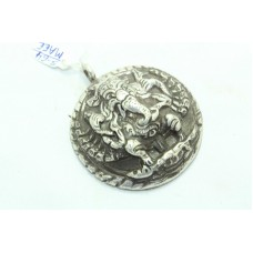 India Tribal Temple Jewelry 925 Sterling Silver God Ganesha Ganesh Pendant