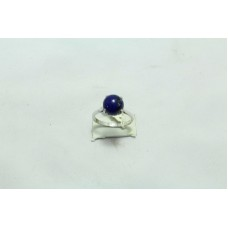 925 Sterling Silver Women's ring Natural stone Lapiz Lazuli  Size No. 17