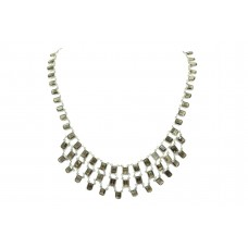 Handmade Designer 925 Sterling Silver Natural Smoky Quartz Gemstone Necklace