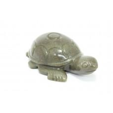Handmade Natural Grey Jade Tortoise stone Figure Home Decorative Gift Item