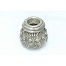 Antique 925 sterling silver Urn pot hand engraved Home Decorative 367 Grams