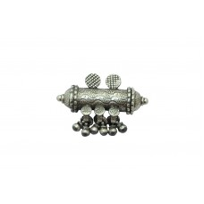 Antique Old Silver Tribal Traditional India Madaliya penadant.