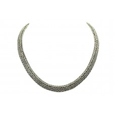 Traditional Handmade Chain sterling silver 925 112.300 Grams 17.5 inch